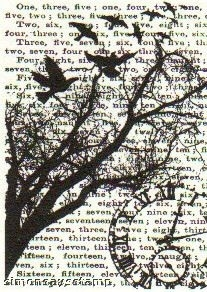 Tim Holtz Cling Rubber ATC Stamp TIME Stampers Anonymous COM004 Preview Image