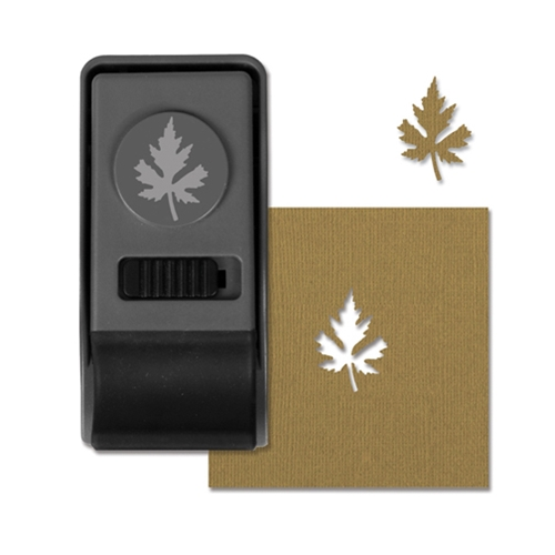 Tim Holtz Sizzix MAPLE LEAF Medium Paper Punch 660166 Preview Image