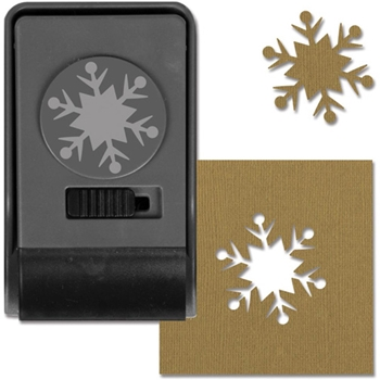 Tim Holtz Sizzix SNOWFLAKE 2 Large Paper Punch 661004