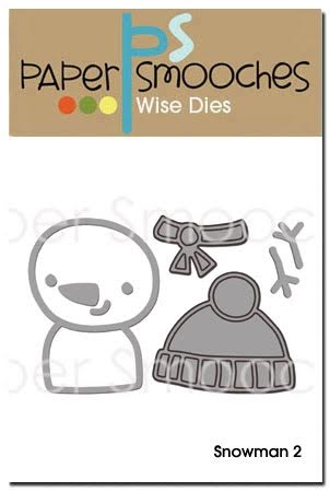 Paper Smooches SNOWMAN 2 Wise Dies NOD283 Preview Image