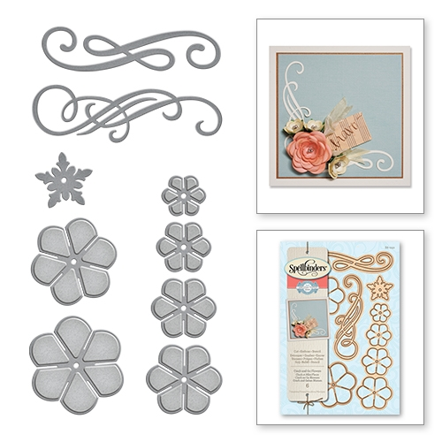S6-050 Spellbinders CINCH AND GO FLOWER Die Set  zoom image