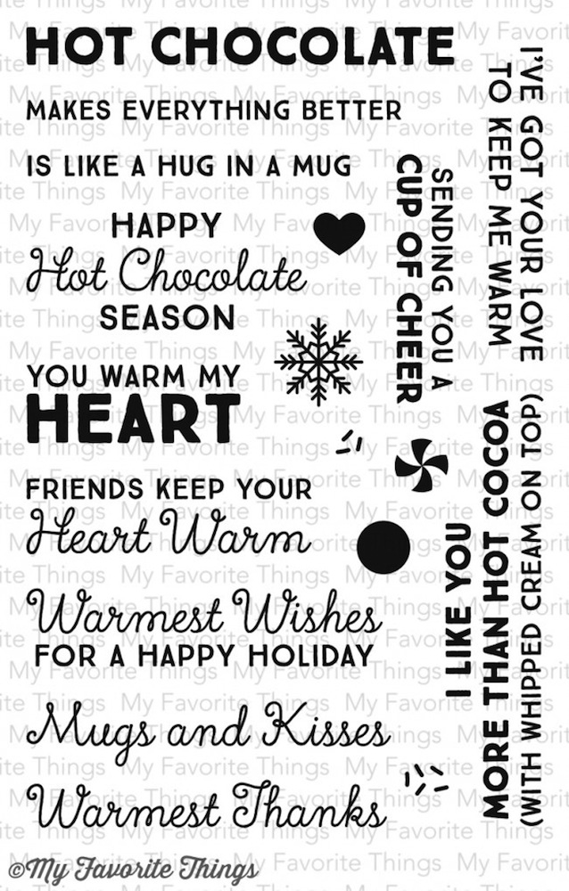 My Favorite Things HUG IN A MUG Clear Stamps LLD48 zoom image