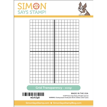 Simon Says Stamp GRID TRANSPARENCY gridtran