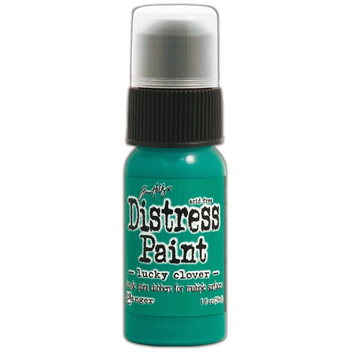 Tim Holtz Distress Paint LUCKY CLOVER Ranger TDD43607 Preview Image