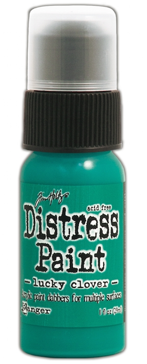 Tim Holtz Distress Paint LUCKY CLOVER Ranger TDD43607 zoom image