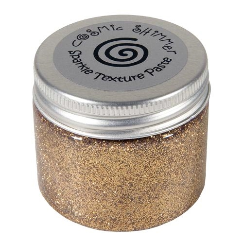 Cosmic Shimmer WARM GOLD Sparkle Texture Paste 906475 zoom image