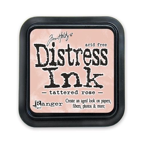 Tim Holtz Distress Ink Pad TATTERED ROSE Ranger TIM20240 Preview Image