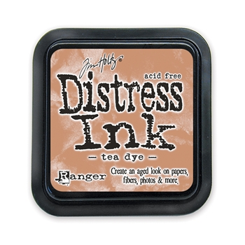 Tim Holtz Distress Ink Pad TEA DYE Ranger TIM19510