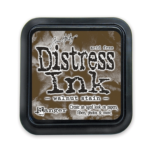 Tim Holtz Distress Ink Pad WALNUT STAIN Ranger TIM19534 Preview Image