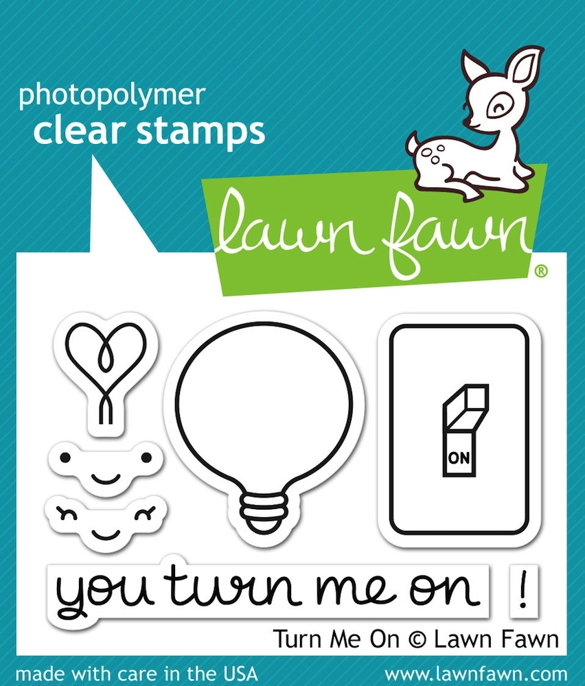 Lawn Fawn TURN ME ON Clear Stamps LF1020 zoom image