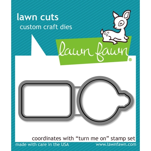 Lawn Fawn TURN ME ON Lawn Cuts LF1021 Preview Image