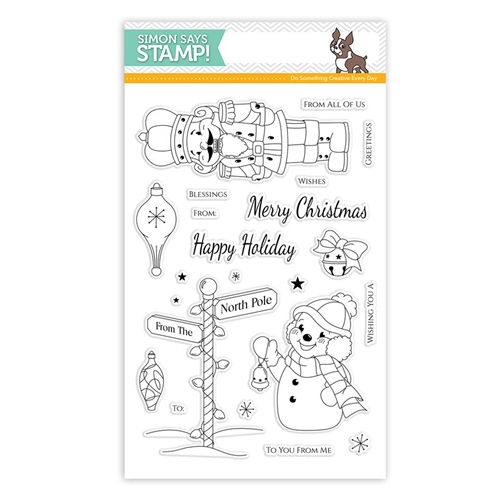 Simon Says Clear Stamps RETRO CHRISTMAS SSS101591 * Preview Image