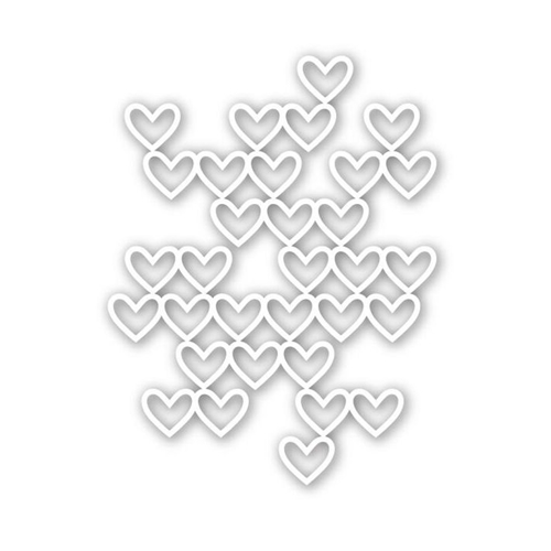 Simon Says Stamp Stacked Hearts Die