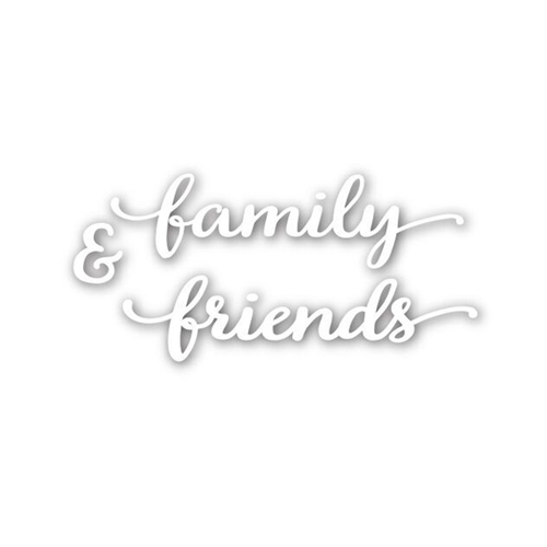 Simon Says Stamp FAMILY AND FRIENDS Wafer Die SSSD111523 * Preview Image