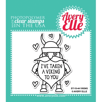Avery Elle Clear Stamps VIKING Set ST 15 44