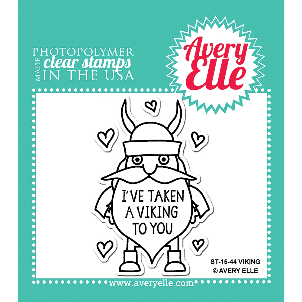 Avery Elle Clear Stamps VIKING Set ST-15-44 zoom image