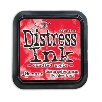Tim Holtz Distress Ink Pad CANDIED APPLE Ranger TIM43287