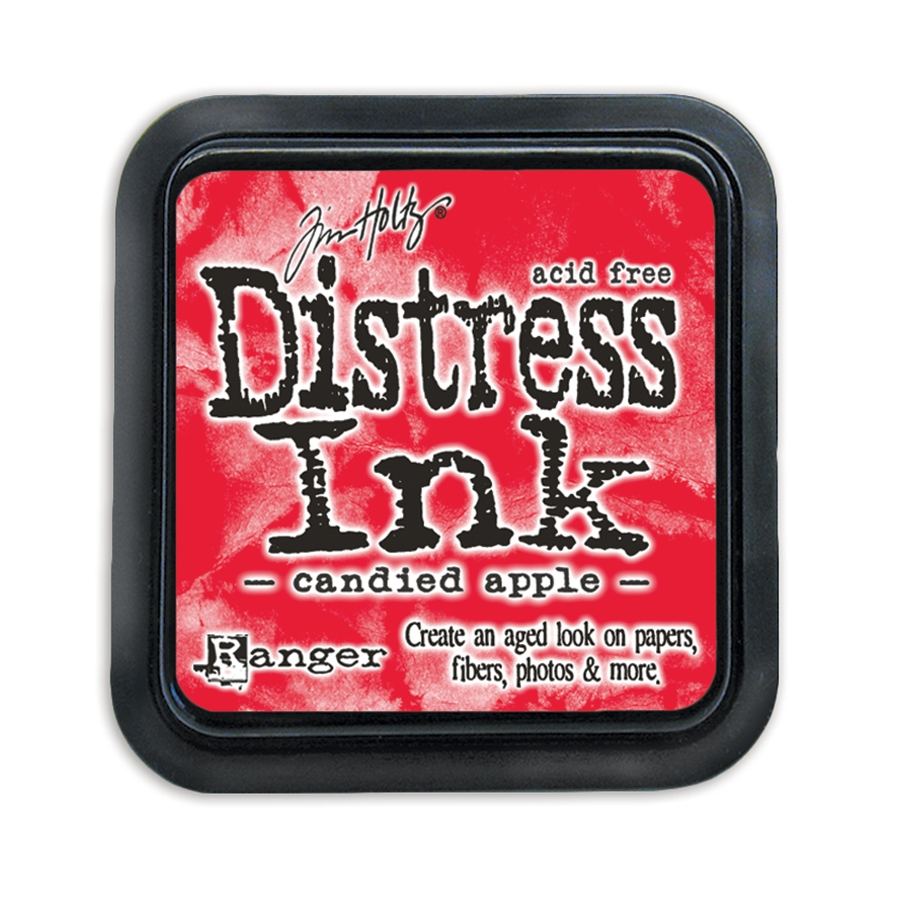 Tim Holtz Distress Ink Pad CANDIED APPLE Ranger TIM43287 zoom image