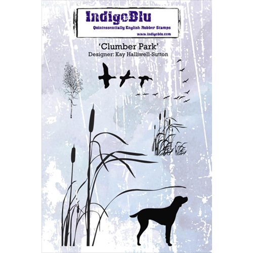 IndigoBlu Cling Stamp CLUMBER PARK Rubber IND0173 Preview Image