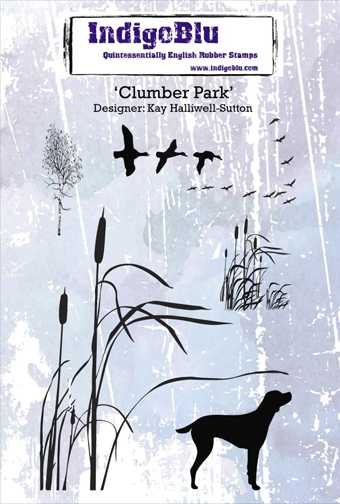 IndigoBlu Cling Stamp CLUMBER PARK Rubber IND0173 zoom image