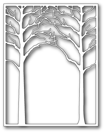 Memory Box MEDIUM FOREST ARCHWAY Craft Die 99159 zoom image