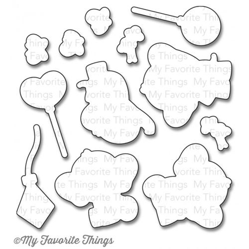 My Favorite Things ADORABLE ELEPHANTS DIe-Namics MFT814 Preview Image