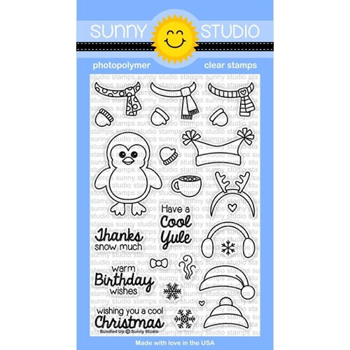 Sunny Studio BUNDLED UP Clear Stamp Set SSCL-117* Preview Image