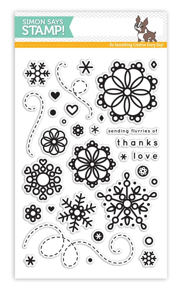 Simon Says Clear Stamps CUTE SNOWFLAKES SSS101602 * zoom image