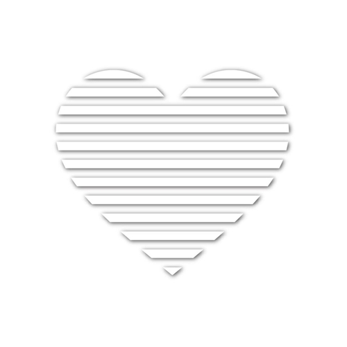 Simon Says Stamp HEART VENT Wafer Dies sssd111556 You Have My Heart Preview Image