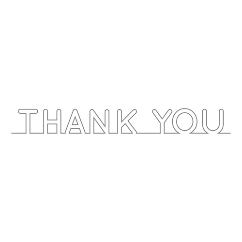 Simon Says Stamp ON EDGE THANK YOU Wafer Dies sssd111554 You Have My Heart Preview Image