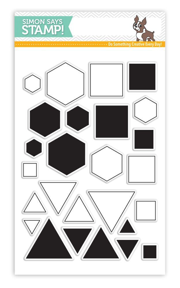 Simon Says Clear Stamps PERFECT SHAPES sss101586 zoom image