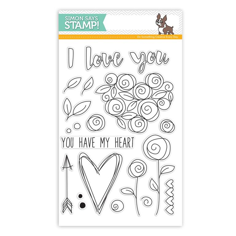 Simon Says Clear Stamps ROSES FOR YOU sss101582 zoom image