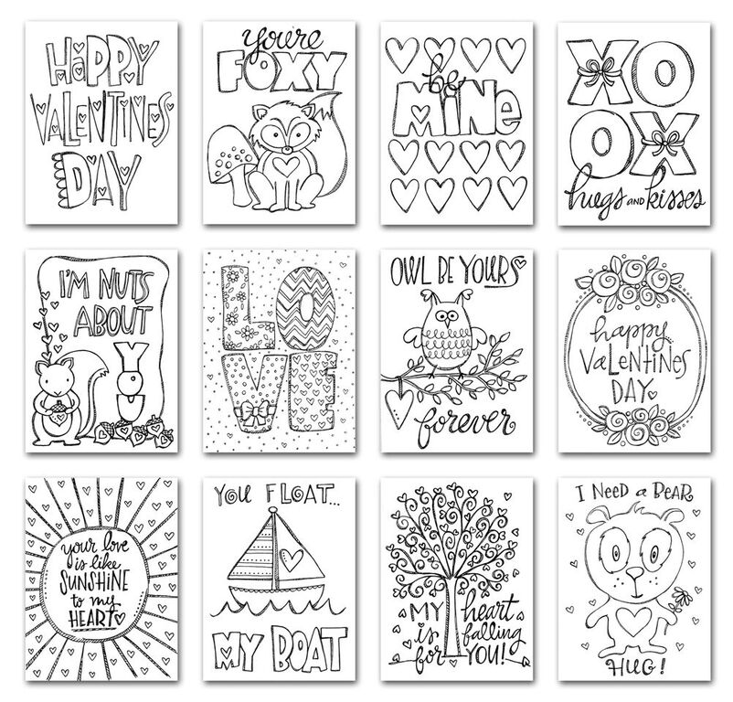 Simon Says Stamp Suzy's LOVE NOTES Watercolor Prints SPV12 You Have My Heart zoom image