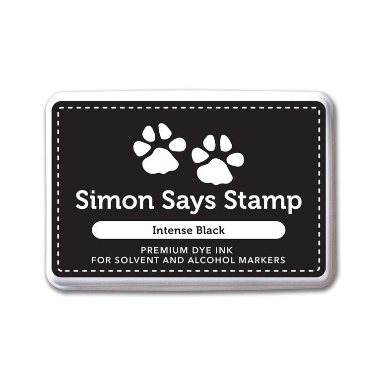 Simon Says Stamp Premium Ink Pad INTENSE BLACK Ink065 zoom image