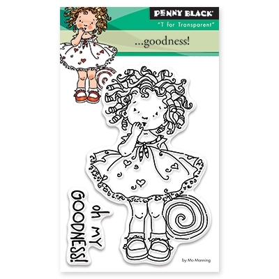 Penny Black Clear Stamps GOODNESS! 30-327 Preview Image