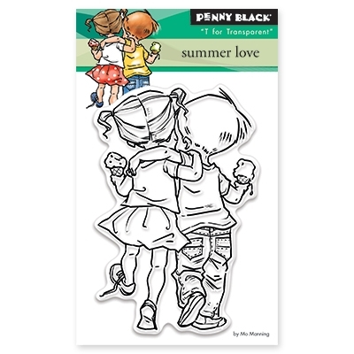 Penny Black Clear Stamps SUMMER LOVE 30-328 zoom image