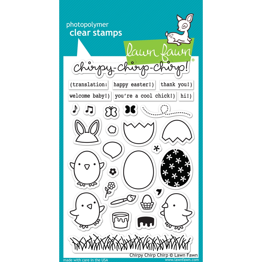 Lawn Fawn CHIRPY CHIRP CHIRP Clear Stamps LF1046 zoom image