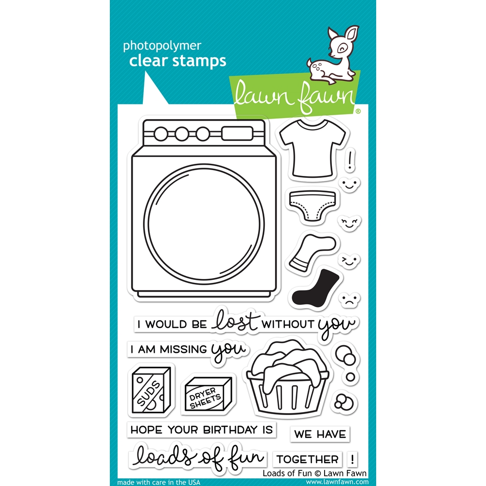 Lawn Fawn LOADS OF FUN Clear Stamps LF1048 zoom image