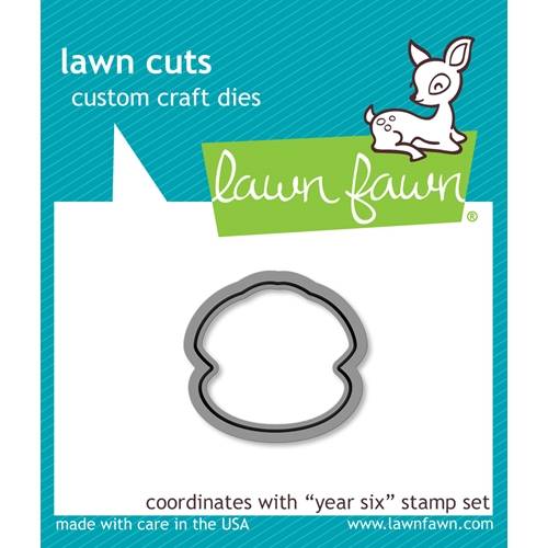 Lawn Fawn YEAR SIX Lawn Cuts LF1051 Preview Image