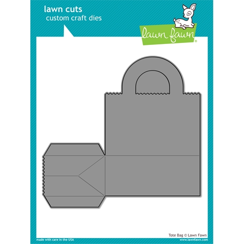Lawn Fawn TOTE BAG Lawn Cuts LF1056 Preview Image