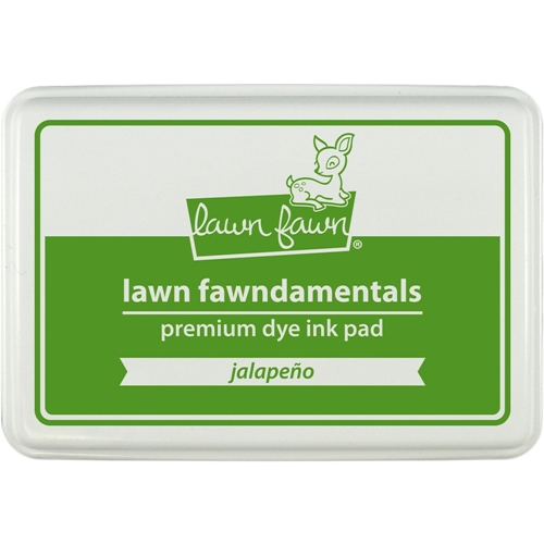 Lawn Fawn JALAPENO Premium Dye Ink Pad Fawndamentals LF1084 Preview Image