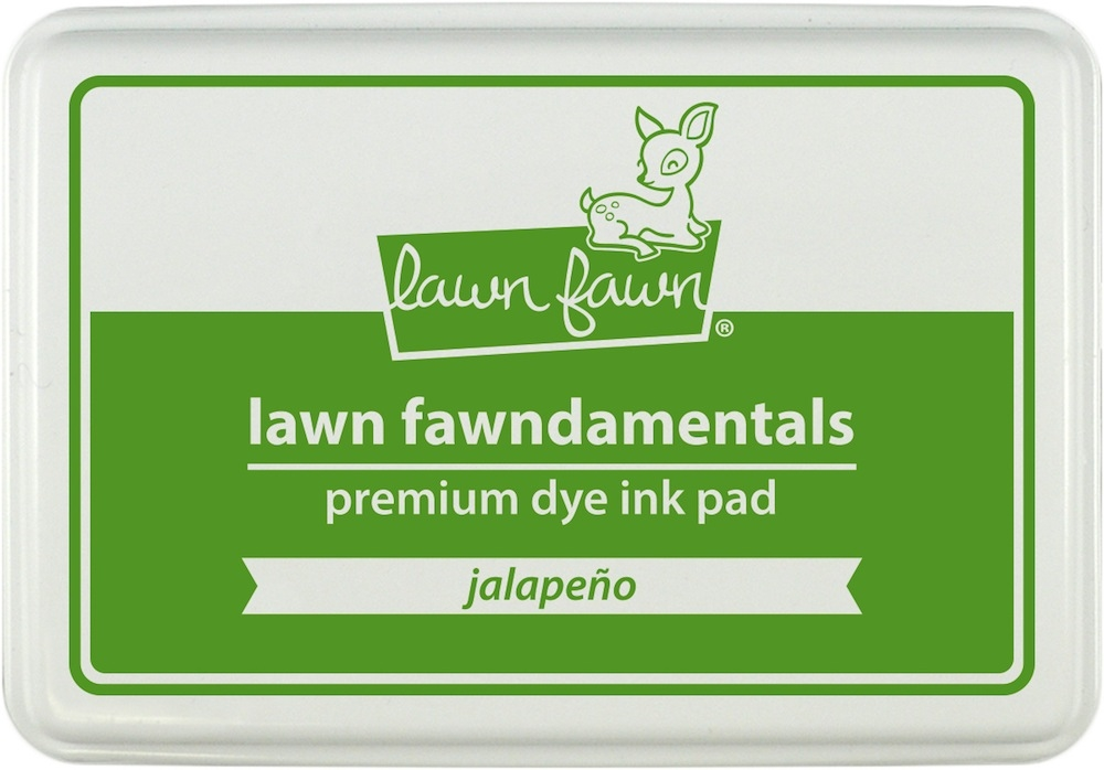 Lawn Fawn JALAPENO Premium Dye Ink Pad Fawndamentals LF1084 zoom image