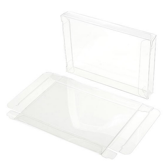 Clear Bags 4-BAR CRYSTAL CLEAR BOX Pack of 6 FB10 zoom image