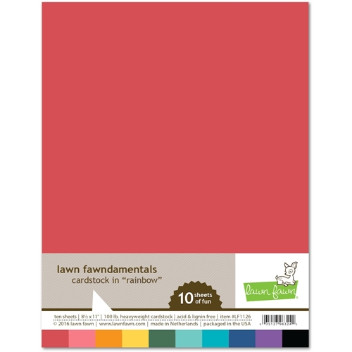 Lawn Fawn RAINBOW Cardstock LF1126 Preview Image