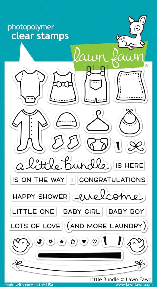 Lawn Fawn LITTLE BUNDLE Clear Stamps LF1127 zoom image