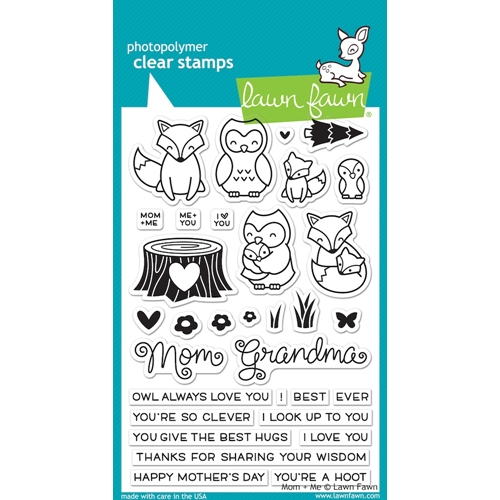 Lawn Fawn MOM AND ME Clear Stamps LF1134 Preview Image