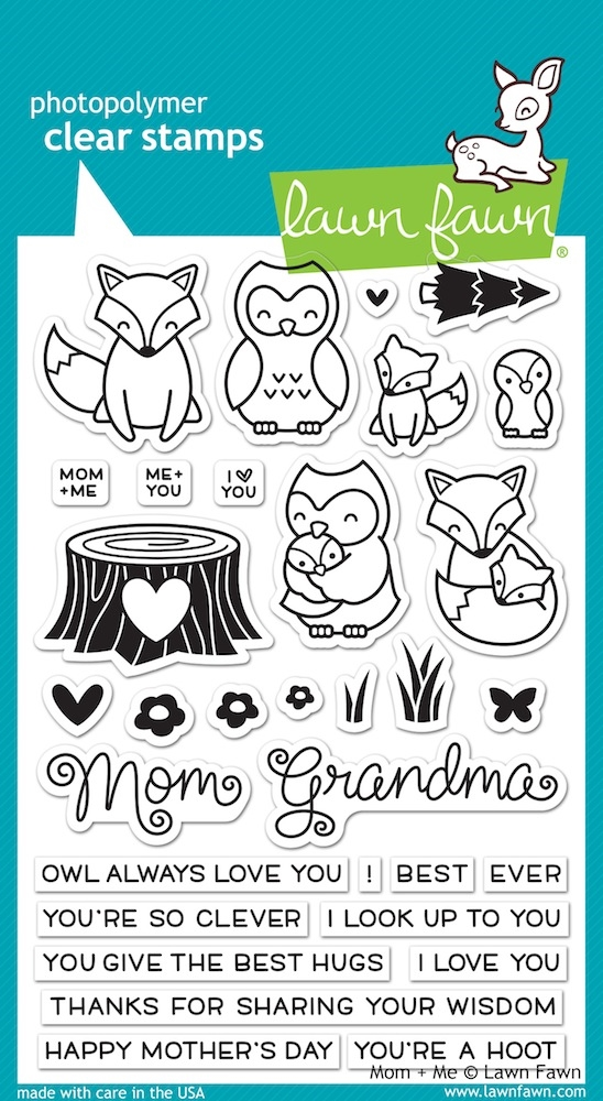 Lawn Fawn MOM AND ME Clear Stamps LF1134* zoom image