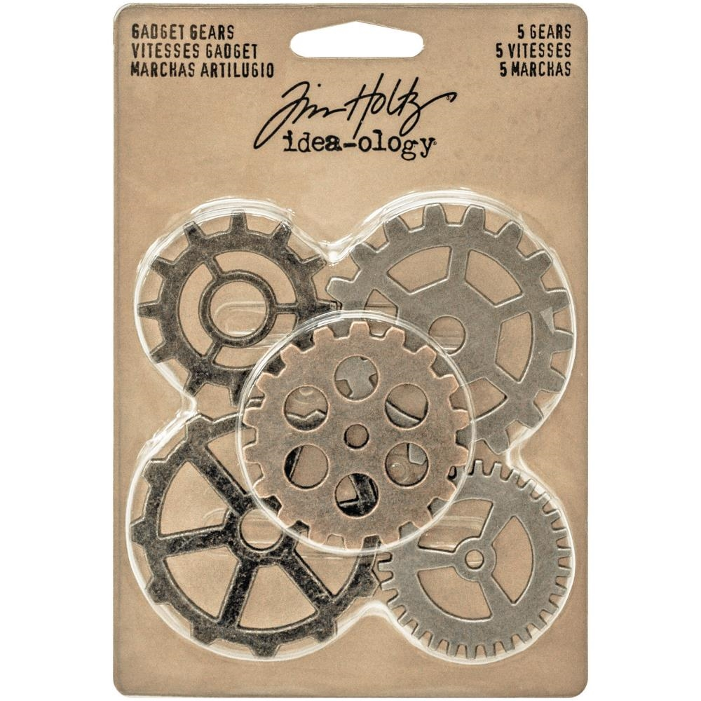 Tim Holtz Idea-ology GADGET GEARS Findings TH93297 zoom image