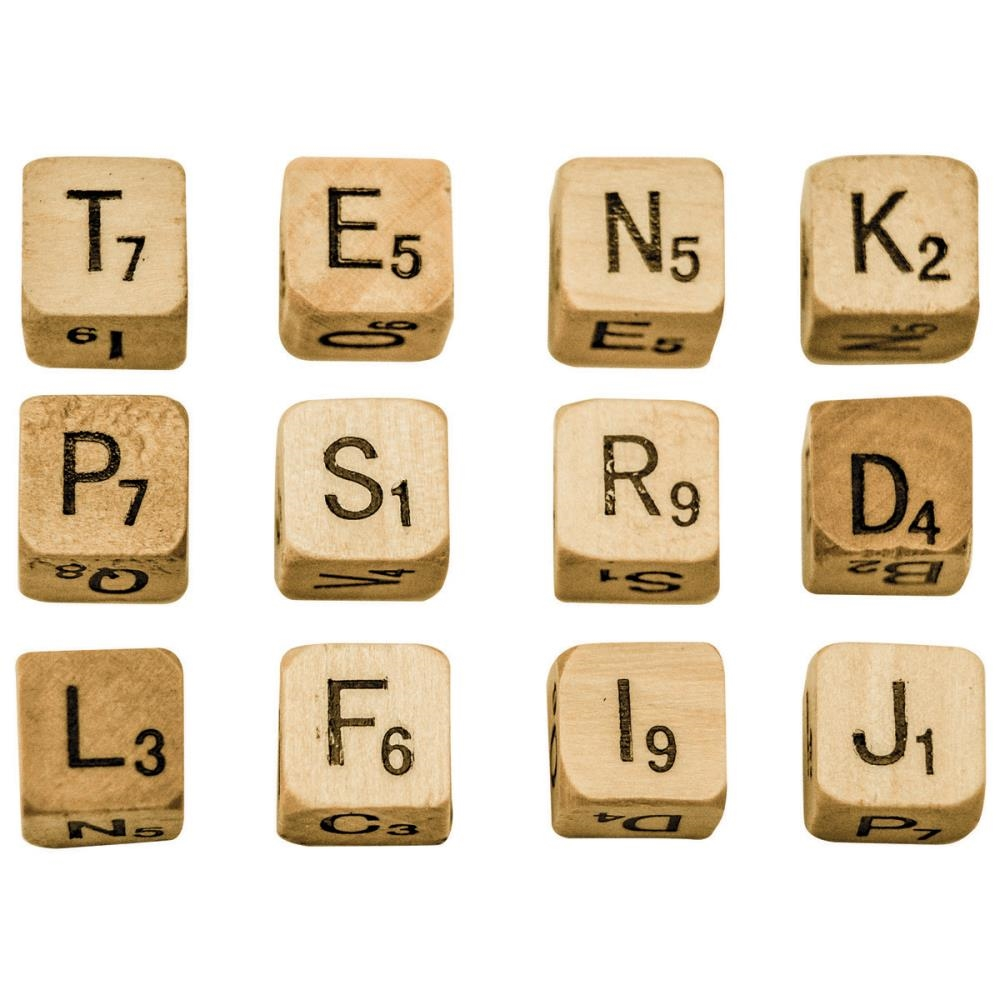 Tim Holtz Idea-ology ALPHA DICE Findings TH93293 zoom image