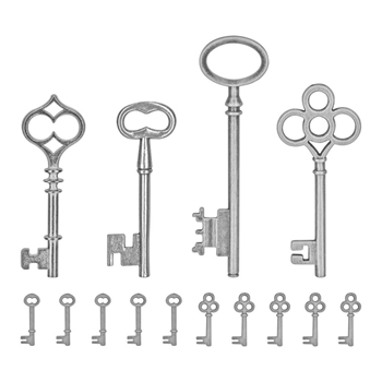 Tim Holtz Idea-ology KEYS ADORNMENTS Findings TH93321